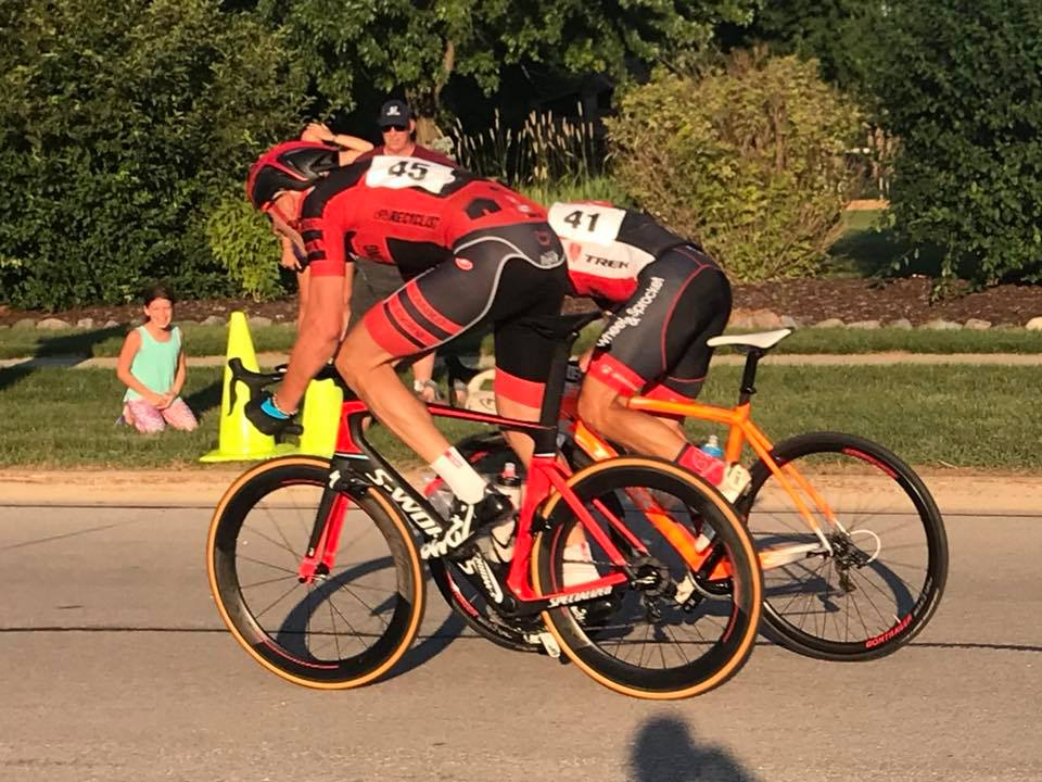 Jon Lester at the 2018 Wisconsin State Championship Road Race